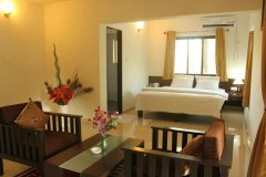 The Tubki Resort Suite Room Patnem Beach Goa. -