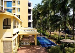 The Tubki Resort Suite Room Balcony View Patnem Beach Goa.