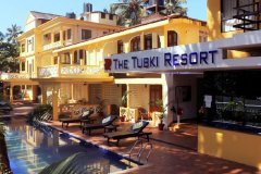 The Tubki Resort Patnem Beach Goa. -