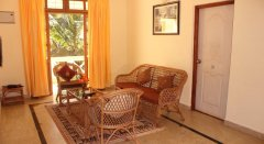 21. The Tubki Resort One Bedroom Apartments Living Room Patnem Beach Goa.