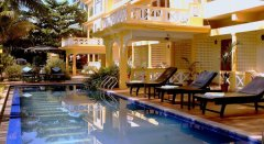 The Tubki Resort Pool View Patnem Beach Goa. -