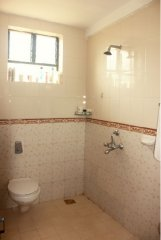 The Tubki Resort Standard Double Room Bathroom Patnem Beach Goa.