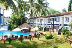 Santana Beach Resort Candolim Beach Goa.