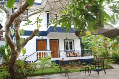 Santana Beach Resort Candolim Beach Goa. -