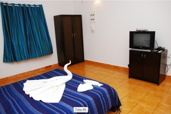 Santana Beach Resort Standard Room Candolim Beach Goa.