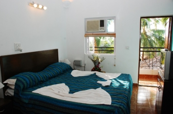 Santana Beach Resort Suite Room Candolim Beach Goa.