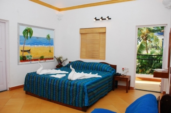 Santana Beach Resort Deluxe Room Candolim Beach Goa.