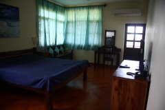 Chalston Beach Resort Large Deluxe AC Room Bedroom Calangute Beach Goa. -