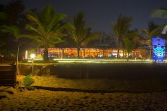 Chalston Beach Resort Restaurant Calangute Beach Goa. -