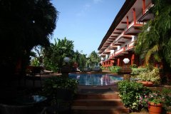 Chalston Beach Resort Pool View Calangute Beach Goa. -