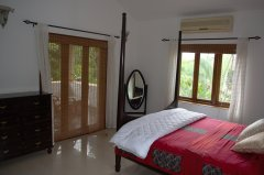 Assagao Villa A1 Master Bedroom near Anjuna Beach Goa. -