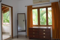 Assagao Villa A1 Upstairs Bedroom near Anjuna Beach Goa. -