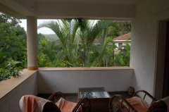 Assagao Villa A1 Upstairs Balcony Lounge near Anjuna Beach Goa. -