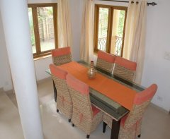 Assagao Villa A1 Dining Room near Anjuna Beach Goa. -