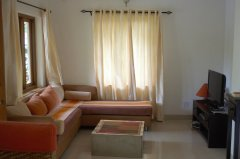 Assagao Villa A1 Living Room near Anjuna Beach Goa. -