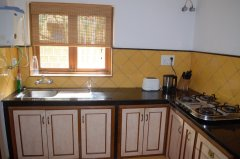 Assagao Villa A1 Kitchen near Anjuna Beach Goa. -
