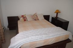 Assagao Villa A1 Downstairs Bedroom near Anjuna Beach Goa. -