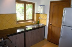 Assagao Villa A7 Kitchen near Anjuna Beach Goa. -