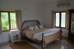 Assagao Villa A7 Master Bedroom near Anjuna Beach Goa. -