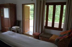 Assagao Villa A7 Upstair Bedroom near Anjuna Beach Goa.