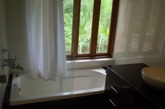 Assagao Villa A7 Upstair Bedroom Bathroom near Anjuna Beach Goa.