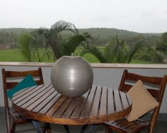 Assagao Villa A7 Upstair Lounge near Anjuna Beach Goa.