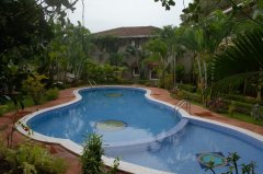 Assagao Villa A7 Shared Swimming Pool near Anjuna Beach Goa.