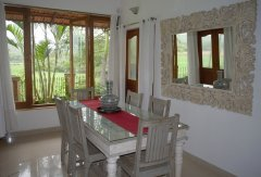 Assagao Villa A7 Dining Room near Anjuna Beach Goa. -