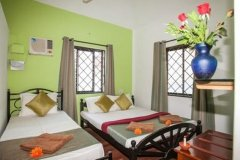 Cuba Baga Non-AC Room Sleeps 6 Baga Beach Goa. -