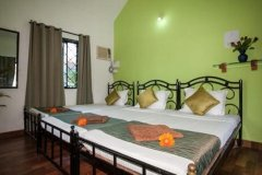 Cuba Baga AC Room Sleeps 6 Baga Beach Goa. -