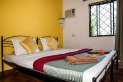 Cuba Baga AC Room Sleeps 2 Baga Beach Goa. -