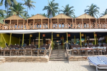 Neptune Point Beach Resort Palolem Beach Goa.