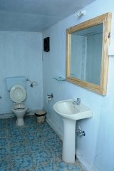 Neptune Point Beach Resort AC Sea Facing Premium Cottage Bathroom Palolem Beach Goa. -