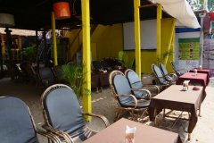 Neptune Point Beach Resort Restaurant Palolem Beach Goa. -