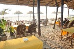 Sand Sapphire Restaurant Agonda Beach Goa.. -
