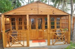 Sand Sapphire AC Sea Facing Premium Cottages Agonda Beach Goa.