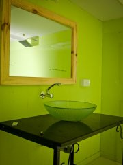 Neptune Point Hill Top Resort  Sea View Cottages Washroom Colomb Beach South Goa.