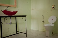 Neptune Point Hill Top Resort  Sea View Cottages Bathroom Colomb Beach South Goa.