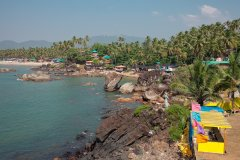 Neptune Point Hill Top Resort View Colomb Beach South Goa.