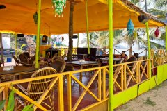 Neptune Point Hill Top Resort Restaurant Colomb Beach South Goa. -