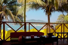 Neptune Point Hill Top Resort Restaurant Colomb Beach South Goa.