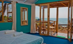 Neptune Point Hill Top Resort Sea View Cottages Interior Colomb Beach South Goa.