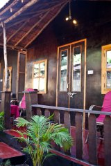 Chillies Patnem Beach - Garden View Hut- Balcony - Private Balcony of Garden View Hut - Chillies Patnem beach