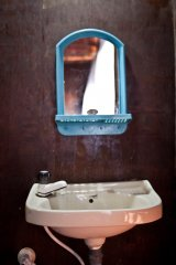 Chillies Patnem Beach - Garden View - Shower sink - Shower of Garden View Hut at Chillies Resort in Patnem Goa