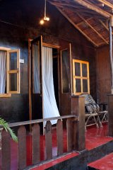 Chillies Patnem Beach Goa-3 - Chillies Patnem Beach, Goa. Beach resort on the sea line of PAtnem beach Goa