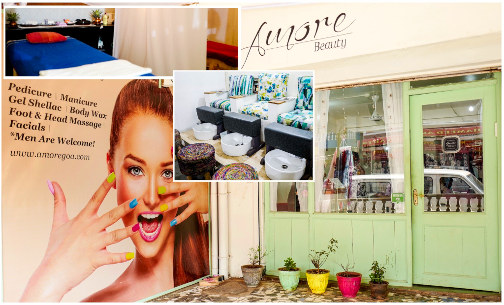 Amore Beauty salon and Spa, at Palolem beach, Goa